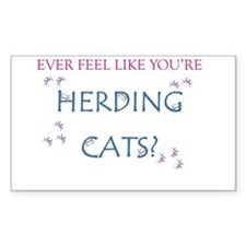 Herding Cats Decal