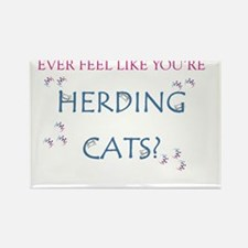 Herding Cats Rectangle Magnet