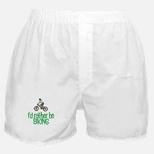 I'd rather be biking Boxer Shorts