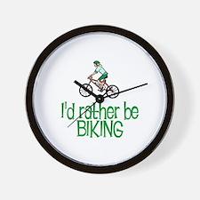 I'd rather be biking Wall Clock