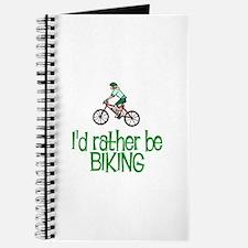 I'd rather be biking Journal