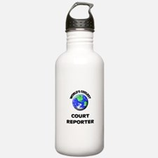 World's Coolest Court Reporter Water Bottle
