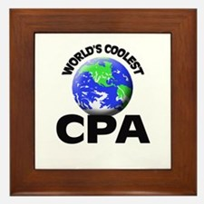 World's Coolest Cpa Framed Tile