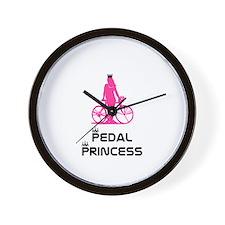 BikeChick Pedal Princess Wall Clock