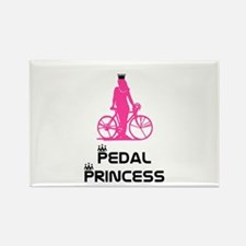 BikeChick Pedal Princess Rectangle Magnet