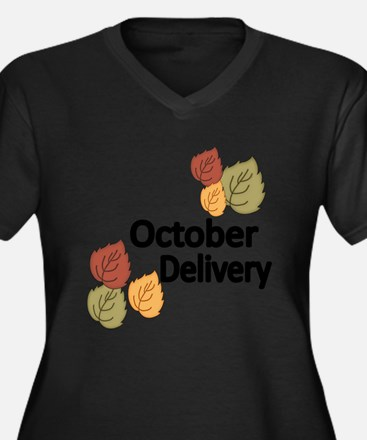 OCTOBER DELIVERY Plus Size T-Shirt