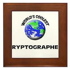 World's Coolest Cryptographer Framed Tile