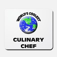 World's Coolest Culinary Cooks Mousepad