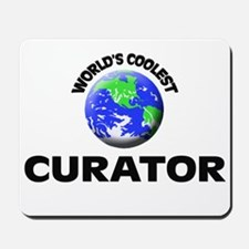 World's Coolest Curator Mousepad
