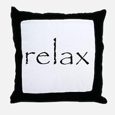 RELAX - Throw Pillow