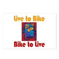 Live to Bike Postcards (Package of 8)