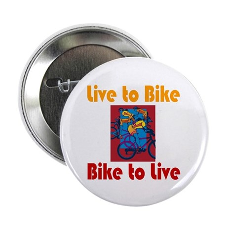 """Live to Bike 2.25"""" Button (10 pack)"""