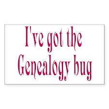 Genealogy Rectangle Decal