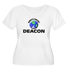 World's Coolest Deacon Plus Size T-Shirt