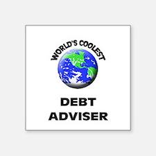 World's Coolest Debt Adviser Sticker