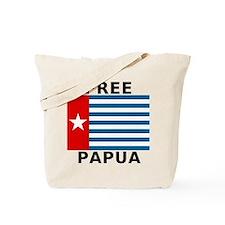 Free Papua Flag Tote Bag