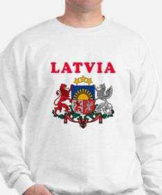 Latvia Coat Of Arms Designs Sweatshirt