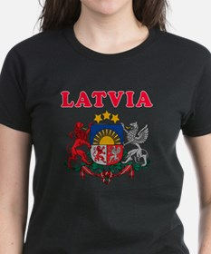 Latvia Coat Of Arms Designs Tee