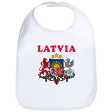 Latvia Coat Of Arms Designs Bib