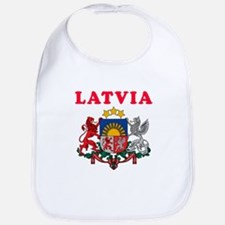 Latvia Coat Of Arms Designs Bib