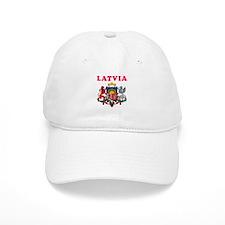 Latvia Coat Of Arms Designs Baseball Cap