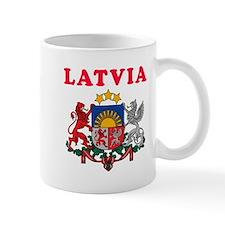 Latvia Coat Of Arms Designs Mug