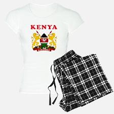 Kenya Coat Of Arms Designs Pajamas