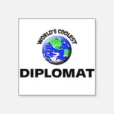 World's Coolest Diplomat Sticker
