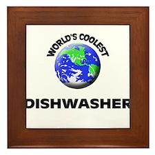 World's Coolest Dishwasher Framed Tile