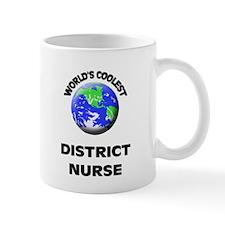 World's Coolest District Nurse Mug