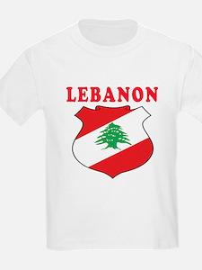 Lebanon Coat Of Arms Designs T-Shirt