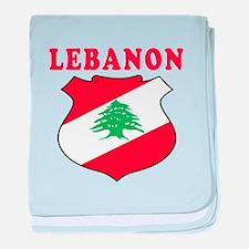 Lebanon Coat Of Arms Designs baby blanket