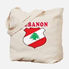 Lebanon Coat Of Arms Designs Tote Bag