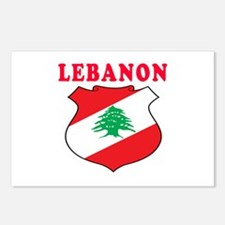 Lebanon Coat Of Arms Designs Postcards (Package of