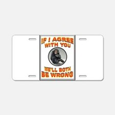 AGREEMENT Aluminum License Plate
