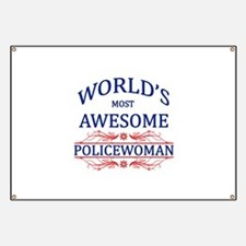 World's Most Awesome Policewoman Banner
