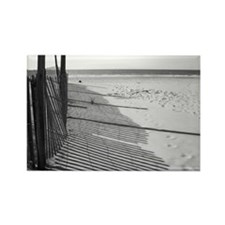 Beach Shadows Rectangle Magnet