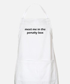 Meet Me In The Penalty Box Apron