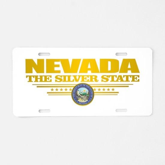 Nevada Pride Aluminum License Plate