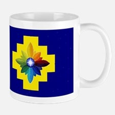 Diamond Rose Cross Mug