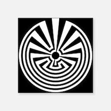 Radial Labyrinth Sticker