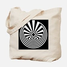 Radial Labyrinth Tote Bag