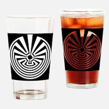 Radial Labyrinth Drinking Glass