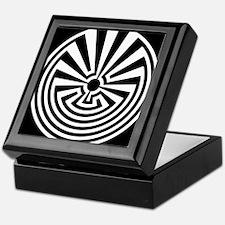 Radial Labyrinth Keepsake Box
