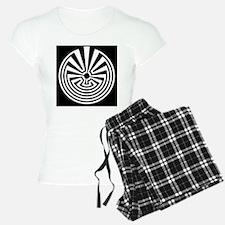 Radial Labyrinth Pajamas