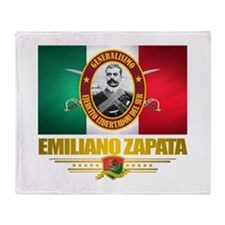 Emiliano Zapata Throw Blanket