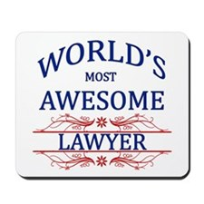 World's Most Awesome Lawyer Mousepad
