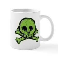 Scribbly Skull And Crossbones Mug