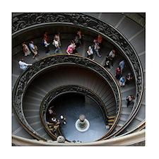 Vatican Stairway Tile Coaster
