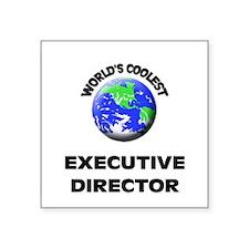 World's Coolest Executive Director Sticker